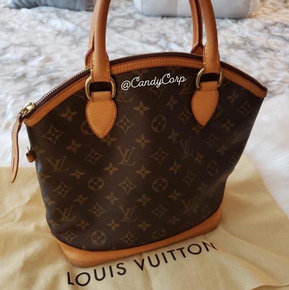 Louis Vuitton Handbags - AUTHENTIC LOUIS VUITTON MONOGRAM LOCKIT PM